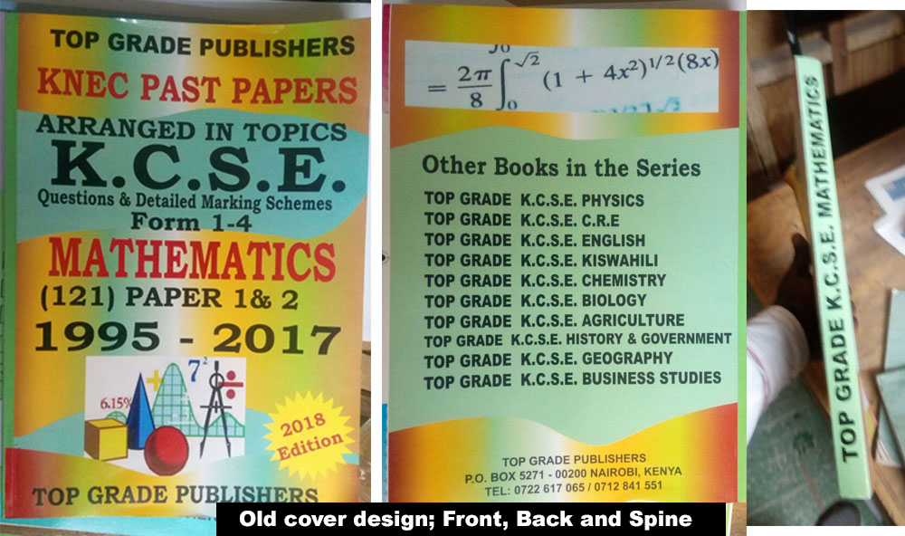 Top Grade Publishers Old cover design