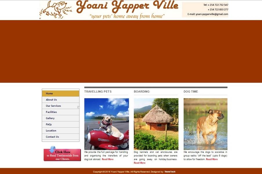 Yoani Yappaville old website